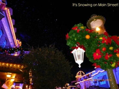It's Snowing on Main Street 2 with text