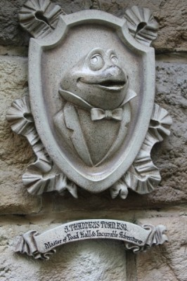 Mr. Toad's Wild Ride was an attraction that we did not want to miss!