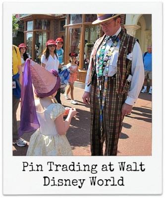 Pin Trading at Disney