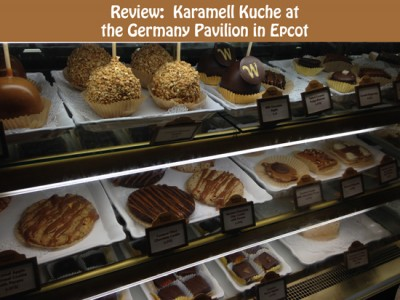 Review - Karamell Kuche at the Germany Pavilion in Epcot