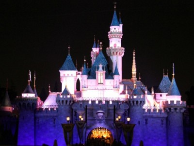 Sleeping Beauty Castle and Cinderella differ greatly both outside and inside.