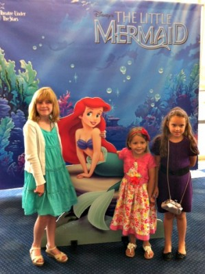 Photo opportunity with Ariel