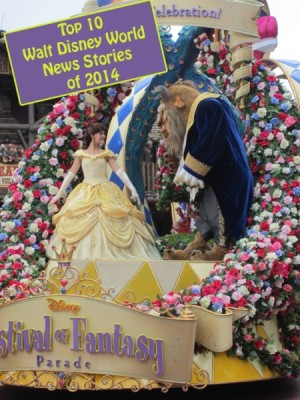 Top 10 Walt Disney World News Stories of 2014