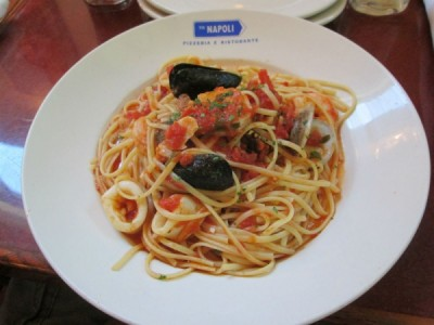 Via Napoli Seafood Pasta