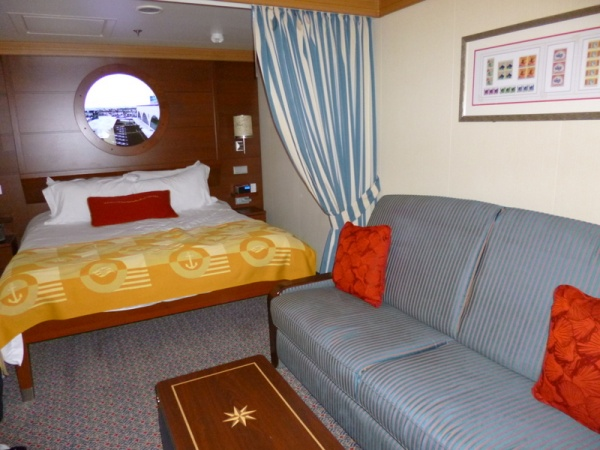 Disney Cruise Line Inside Stateroom Fantasy 3