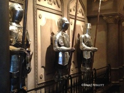 Be Our Guest Statues