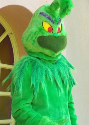Grinch at Seuss Landing