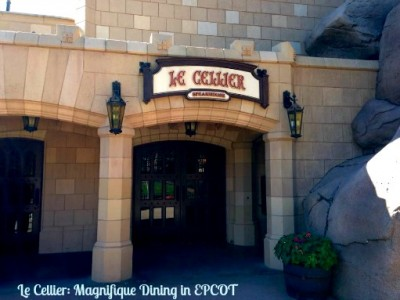 Le Cellier: Magnafique Dining in EPCOT