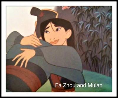 Mulan & Fa Zhou - with text