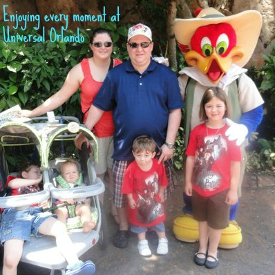 Picture with Woody Woodpecker