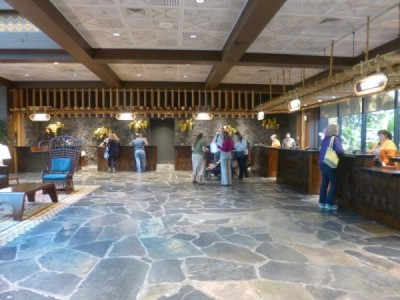 Polynesian Village Resort Lobby refurbishment 11