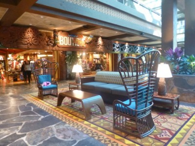 Polynesian Village Resort Lobby refurbishment 14