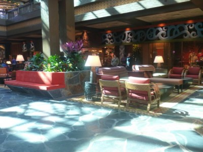 Polynesian Village Resort Lobby refurbishment 17