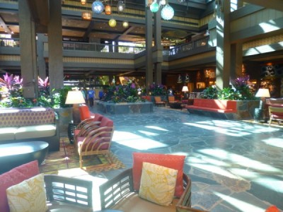 Polynesian Village Resort Lobby refurbishment 18