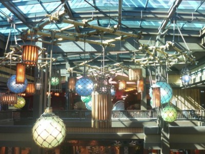 Polynesian Village Resort Lobby refurbishment 21