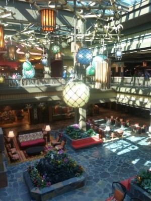 Polynesian Village Resort Lobby refurbishment 22