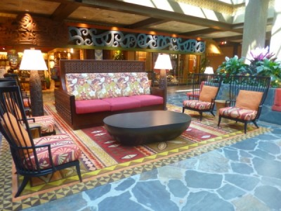 Polynesian Village Resort Lobby refurbishment 7