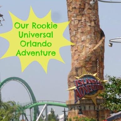Rookie Universal Orlando