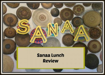 Sanaa Lunch review
