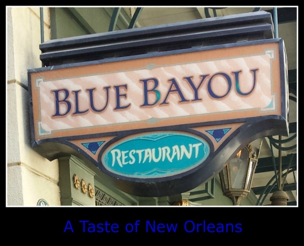 blue bayou sign caption