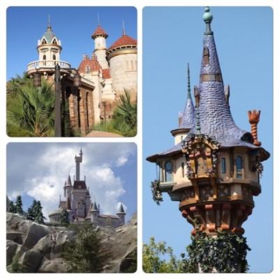 Castles in New Fantasyland