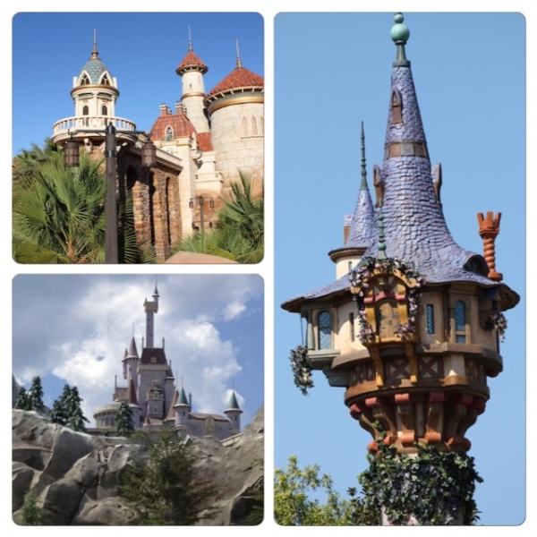 Castles in New Fantasyland
