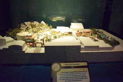 One Man's Dream  - Buena Vista Street Model
