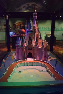 One Man's Dream  - Cinderella Castle Model