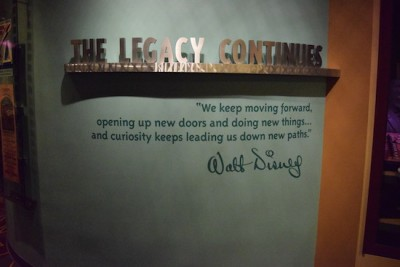 One Man's Dream  - Legacy Sign