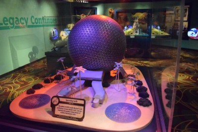 One Man's Dream  - Spaceship Earth Model