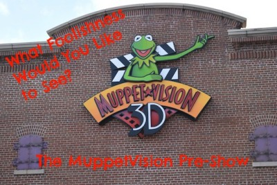 Muppetvision Pre Show Cover