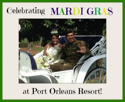 Mardi Gras at Disney World's Port Orleans Resort
