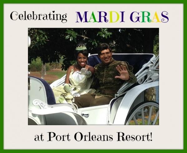 1 Port Orleans Resort Mardi Gras Parade tiana 2