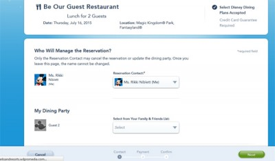 Be Our Guest Reservations 3