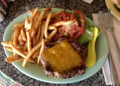 Beaches & Cream Burger 1