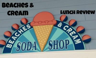 Beaches & Cream sign