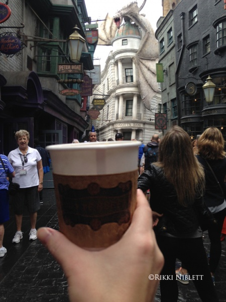 Butterbeer in Diagon Alley