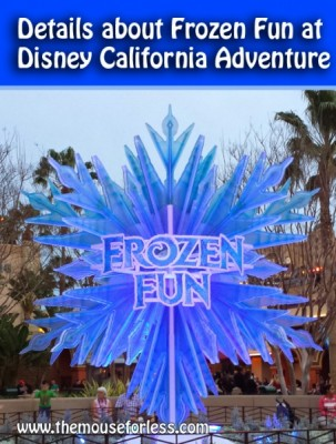 Details about Frozen Fun at Disney California Adventure
