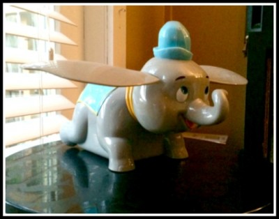One of my favorite novelty popcorn buckets...flying Dumbo!