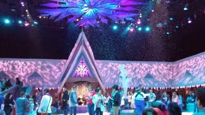 Inside Olaf's Snow Fest