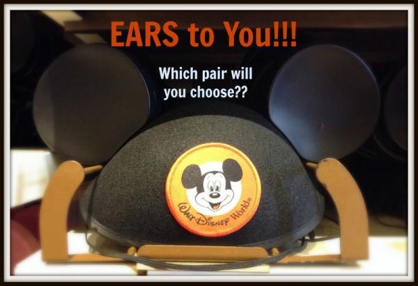 Mickey Mouse Ear Hats Disney World header