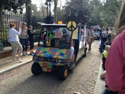 Port Orleans Resort Mardi Gras Parade disco 5