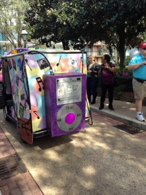 Port Orleans Resort Mardi Gras Parade songs of today 6