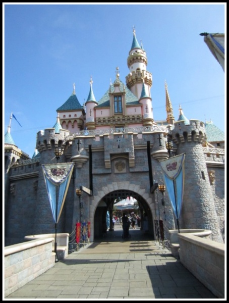 Sleeping Beauty Castle at Disneyland. Photo courtesy of Rikki Niblett