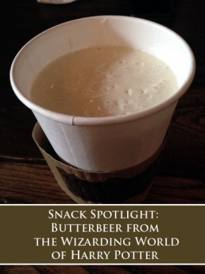 Snack Spotlight on Butterbeer at Wizarding World of Harry Potter