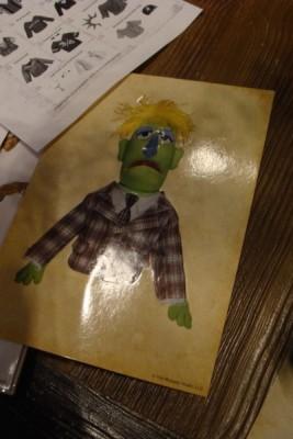 tim muppet whatnot 0212 sticker sheet