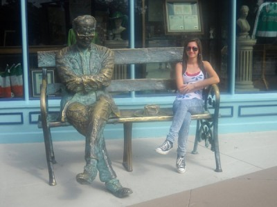 Hanging out with Poet Patrick Kavanagh