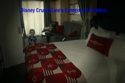 Disney Cruise LIne's Category 4A Cabins