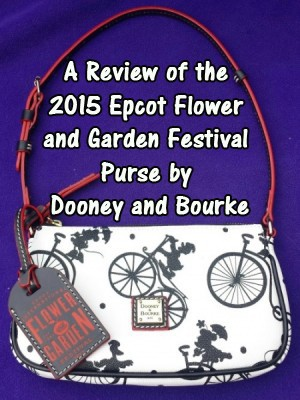 2015 Epcot Flower and Garden Festival Purse by Dooney and Bourke