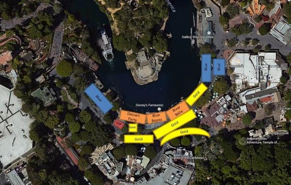 Disneyland's New Fantasmic Fastpass System